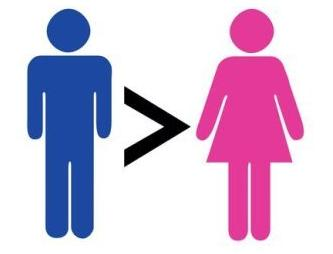 Human males are bigger than females because…